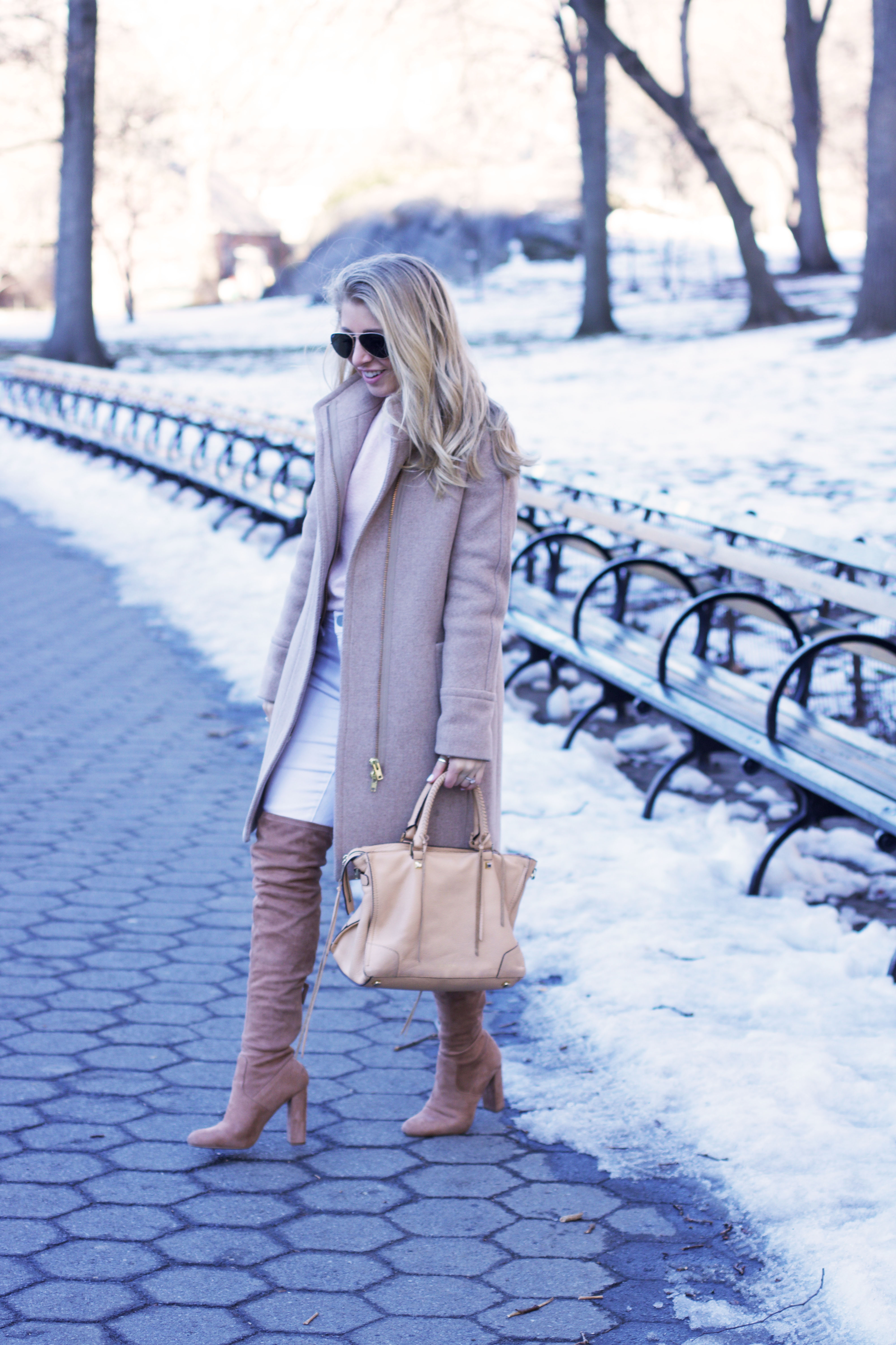 Winter Neutral Outfit - NYC