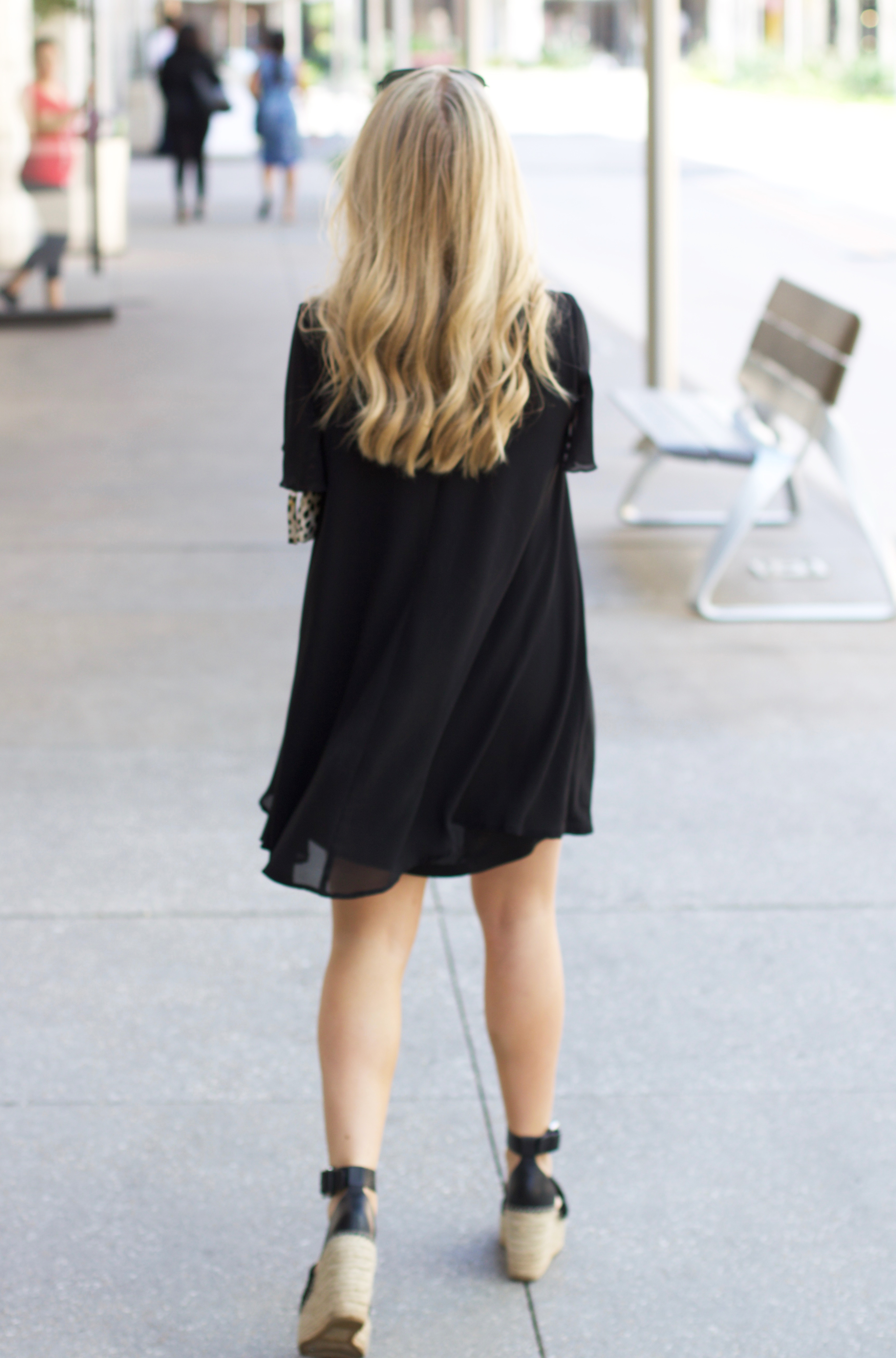 How To Wear Black In The Spring