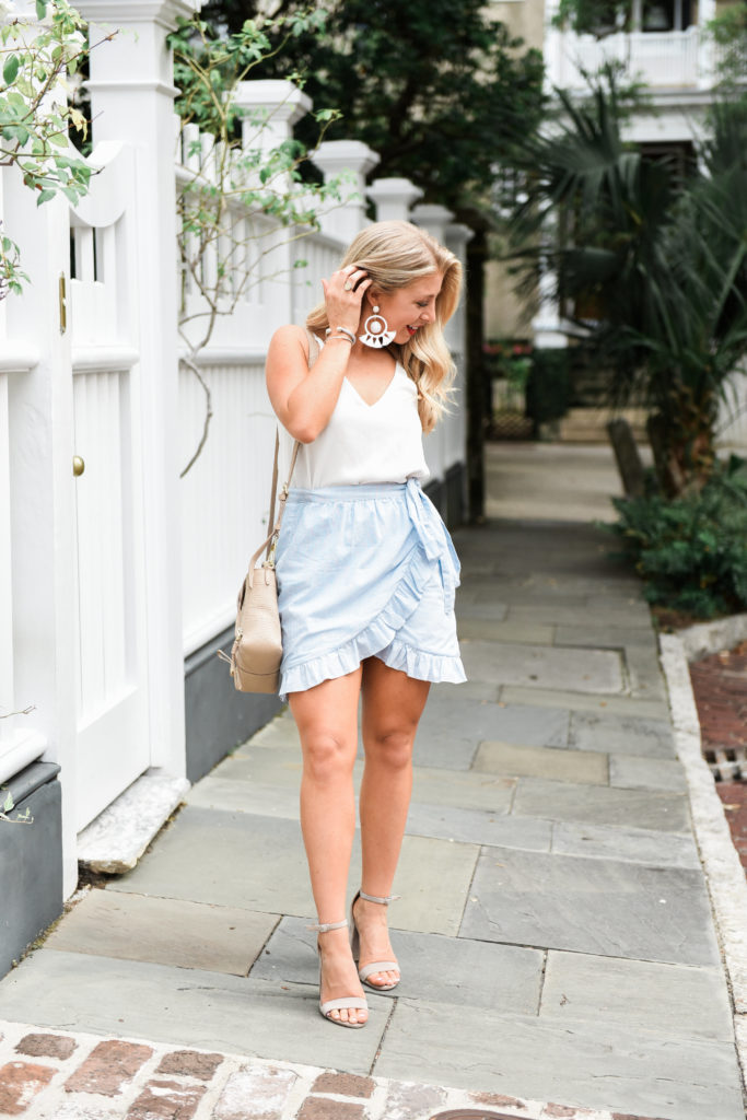 Madewell Wrap Skirt