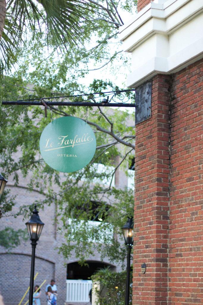 Charleston Travel Guide - Le Farfalle