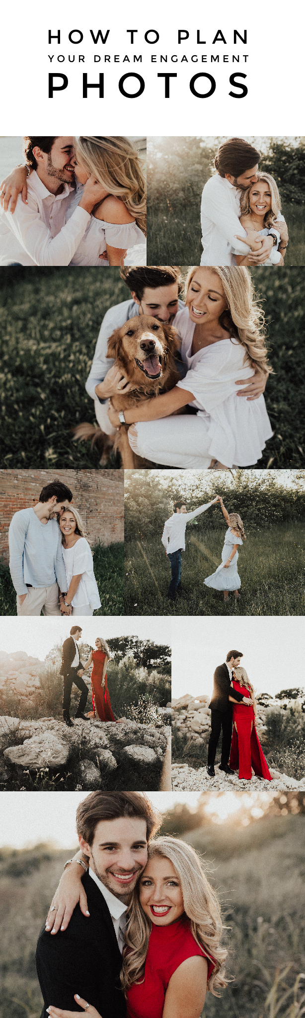 How To Plan Your Dream Engagement Photos