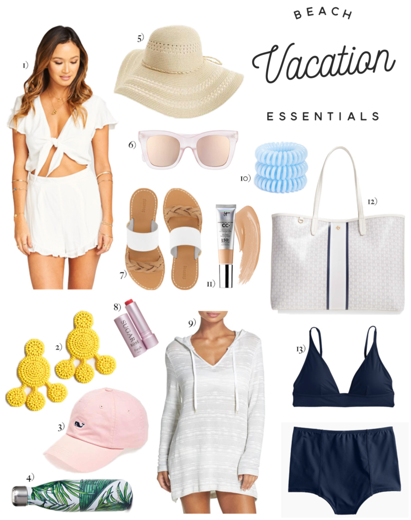 Beach Vacation Packing Essentials