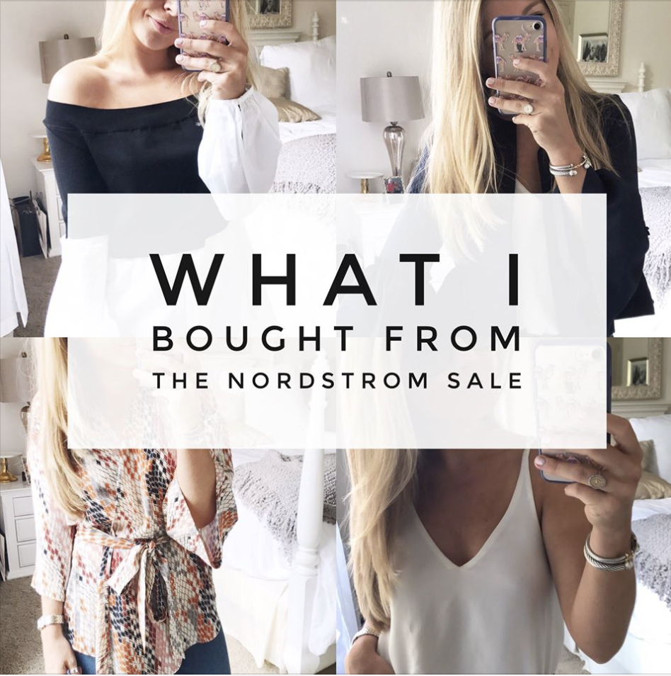 What Bloggers Bought From The Nordstrom Sale