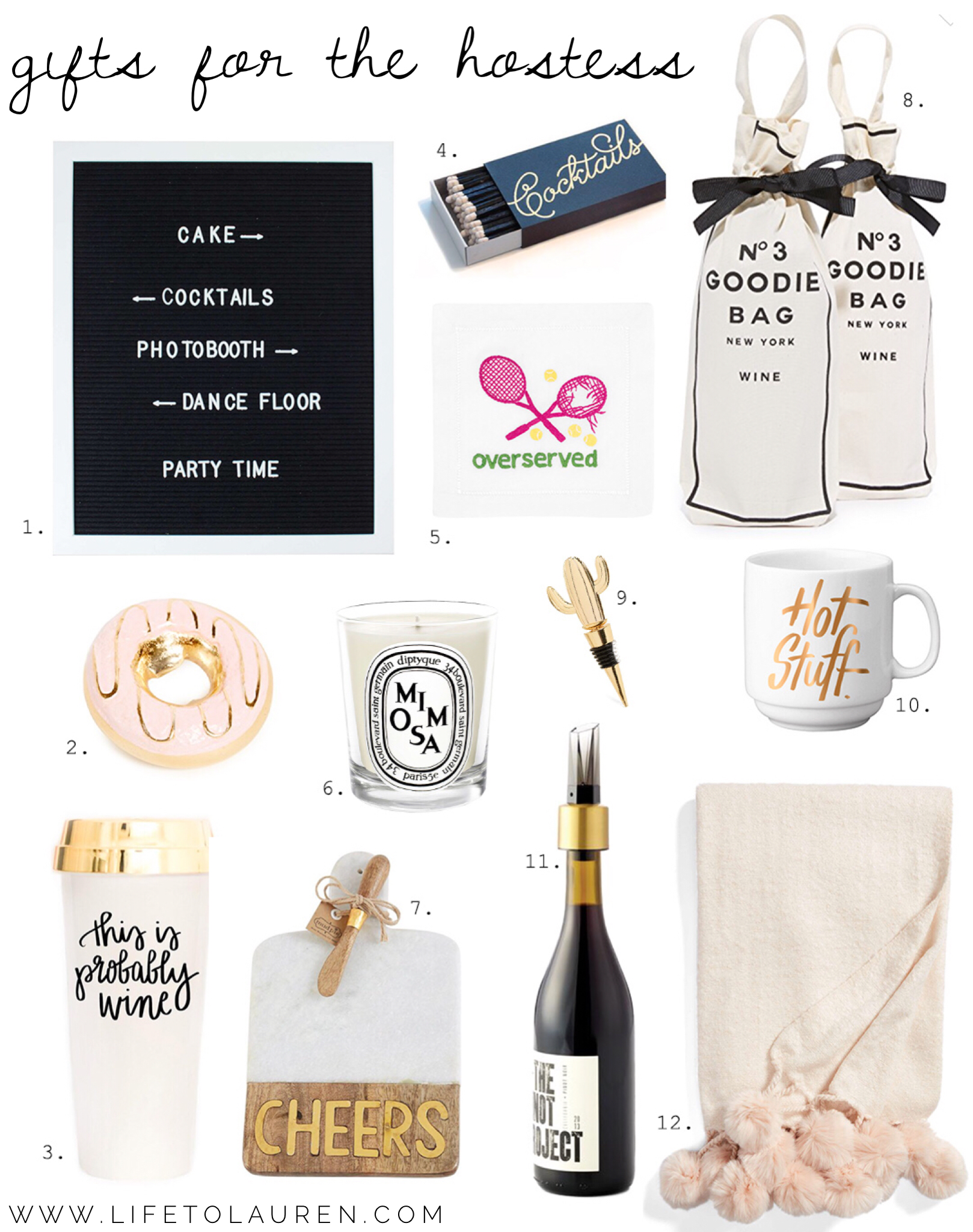 Gift Guide For The Hostess 2017